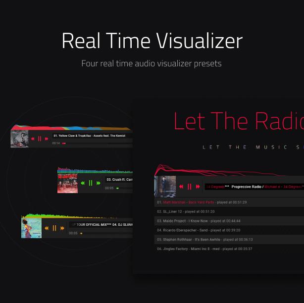 Ultimate Radio Player WordPress Plugin - 8