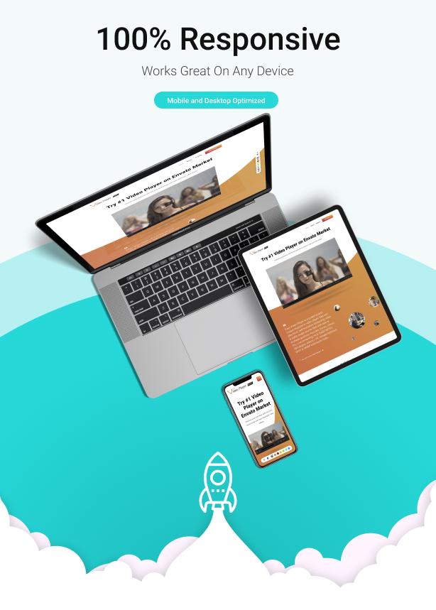 Easy Video Player WordPress Plugin, Gobase64
