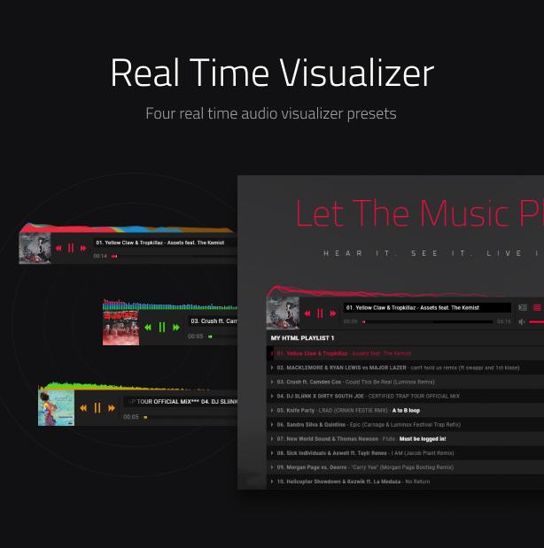 Complemento de Royal Audio Player WordPress - 6