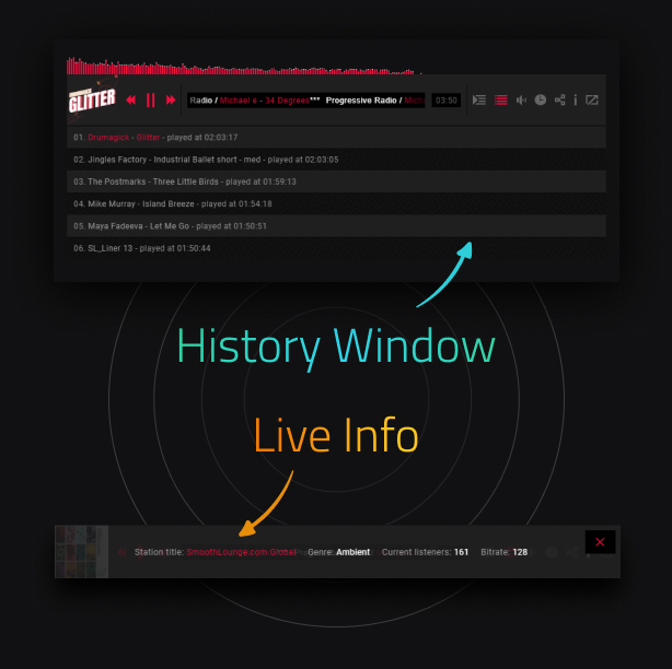 Ultimate Radio Player WordPress Plugin - 9