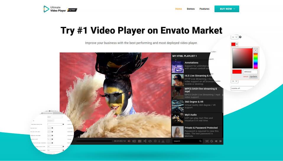 Ultimate Video Player WordPress video plugin